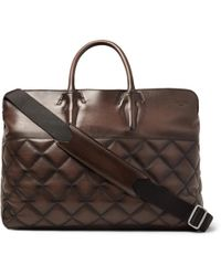 Berluti - Cube Quilted Leather Holdall - Lyst