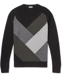 Tomas Maier - Colour-block Cashmere Sweater - Lyst