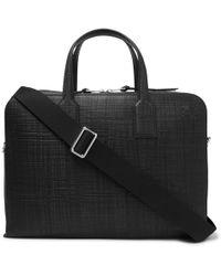 Loewe - Goya Cross-grain Leather Briefcase - Lyst