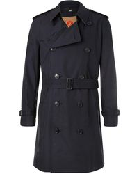 Burberry - Kensington Double-breasted Cotton-gabardine Trench Coat With Detachable Gilet - Lyst