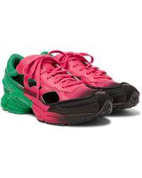 Raf Simons - + Adidas Originals Replicant Ozweego Trainers - Lyst