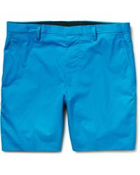Marc By Marc Jacobs - Harvey Slim-fit Cotton-twill Shorts - Lyst