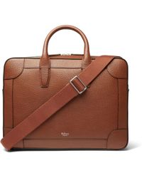 bfd269b855 Mulberry - Belgrave Full-grain Leather Briefcase - Lyst