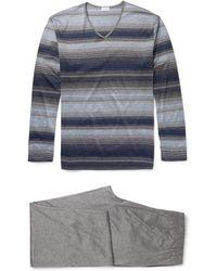 Zimmerli - Cotton Pyjama Set - Lyst