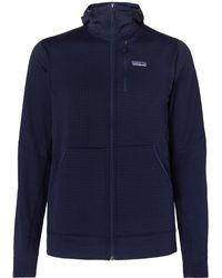 Patagonia - R1 Textured Jersey Hooded Base Layer - Lyst