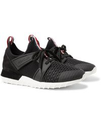80b96b5d244 moncler-black-Emilien-Suede-And-Rubber-trimmed-Mesh-Sneakers.jpeg