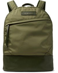Want Les Essentiels De La Vie - Kastrup Leather-trimmed Nylon Backpack - Lyst