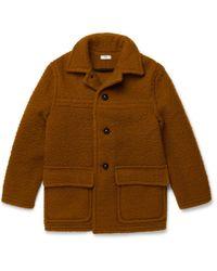 Cmmn Swdn - Boiled Wool Duffle Coat - Lyst