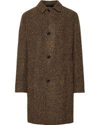 Mp Massimo Piombo - Douglas Textured Virgin Wool Coat - Lyst