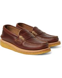 Yuketen - Leather Penny Loafers - Lyst