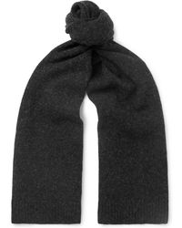 Norse Projects - Mélange Brushed Merino Wool Scarf - Lyst