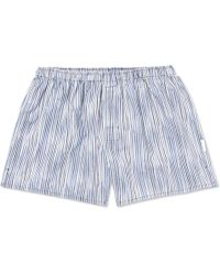 Ermenegildo Zegna - Striped Cotton Boxer Shorts - Lyst