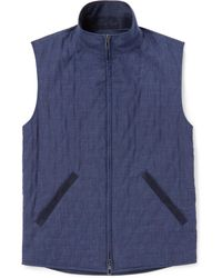 Loro Piana - Reversible Shell And Wool-blend Gilet - Lyst