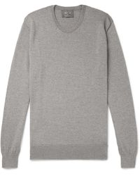 Private White V.c. - Mélange Merino Wool Sweater - Lyst