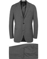 Boglioli - Grey Slim-fit Virgin Wool Suit - Lyst