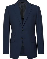 Tom Ford - Navy O'connor Slim-fit Wool Suit Jacket - Lyst