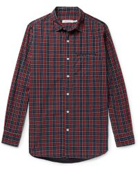 Nonnative - Gardener Checked Cotton-poplin Shirt - Lyst