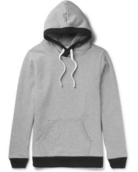Beams Plus | - Loopback Cotton-jersey Hoodie - Gray | Lyst