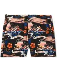 Stella McCartney - Long-length Printed Swim Shorts - Lyst