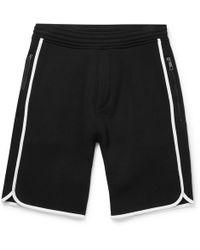 Neil Barrett - Wide-leg Neoprene Shorts - Lyst