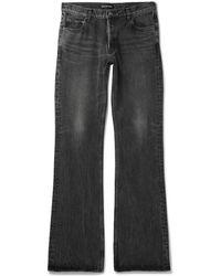 Balenciaga - Distressed Denim Jeans - Lyst