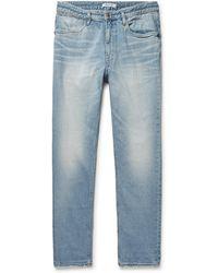 Nonnative - Dweller Slim-fit Denim Jeans - Lyst