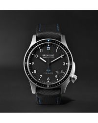 Bremont - Model 1/bk/ss Automatic Chronometer 43mm Stainless Steel Watch - Lyst