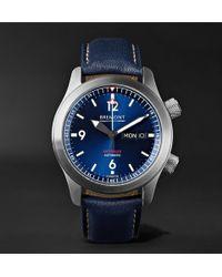 Bremont - U2/bl-blue Stainless Steel Watch - Lyst