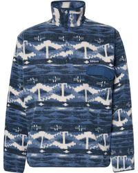 Patagonia - Snap-t Printed Synchilla Fleece Sweatshirt - Lyst