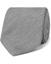 Dunhill - 8cm Textured-silk Tie - Lyst