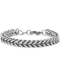 Balenciaga - Silver-tone Chain Bracelet - Lyst