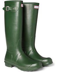 HUNTER - Original Tall Wellington Boots - Lyst