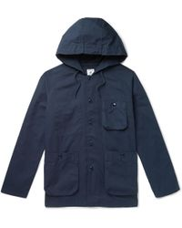 Arpenteur - Cotton-twill Hooded Jacket - Lyst