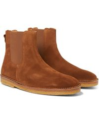 Folk - Brandon Suede Chelsea Boots - Lyst