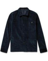 Anderson & Sheppard - Cotton-corduroy Shirt Jacket - Lyst