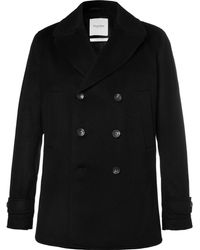 Hardy Amies - Cashmere Peacoat - Lyst