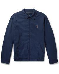 Polo Ralph Lauren - Twill Blouson Jacket - Lyst
