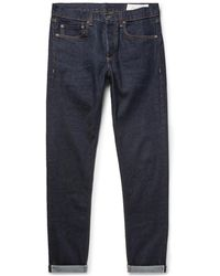 Rag & Bone - Fit 1 Skinny-fit Selvedge Stretch-denim Jeans - Lyst