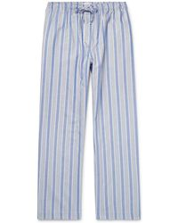 Derek Rose - Artic Striped Cotton Pyjama Trousers - Lyst