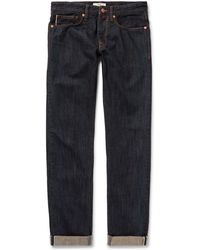 Incotex - Slim-fit Selvedge Denim Jeans - Lyst