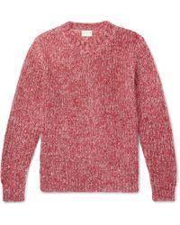 Simon Miller - Mélange Mohair, Wool, Paper And Silk-blend Sweater - Lyst