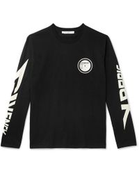 b0f53a1d Givenchy - Glow-in-the-dark Printed Cotton-jersey T-shirt