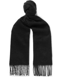 Paul Smith - Fringed Cashmere Scarf - Lyst
