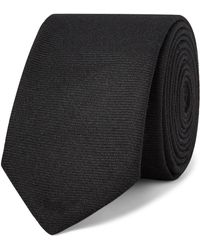 Thom Browne - 5cm Striped Wool-twill Tie - Lyst