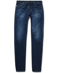 AG Jeans - Stockton Skinny-fit Stretch-denim Jeans - Lyst