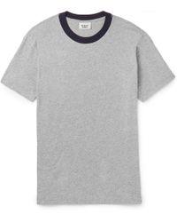 Sleepy Jones   Andre Mélange Cotton-jersey T-shirt   Lyst