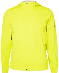 Asics - Accelerate Stretch-jersey Hooded Jacket - Lyst