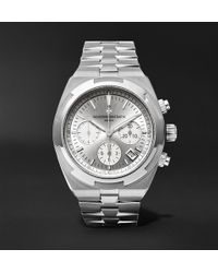 Vacheron Constantin - Overseas Automatic Chronograph 42.5mm Stainless Steel Watch - Lyst