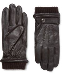 Dents - Henley Touchscreen Leather Gloves - Lyst
