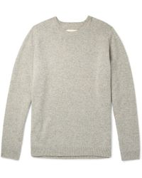 Folk - Patrice Mélange Wool Sweater - Lyst
